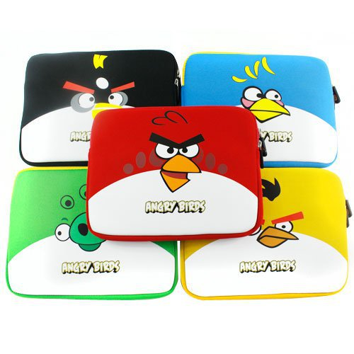 Angry Birds Sleeve Soft Case Bag for iPad