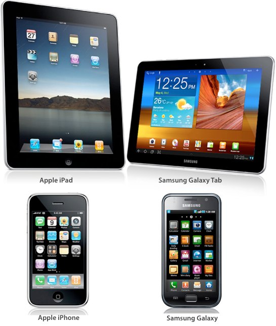 Samsung Galaxy and Galaxy Tab Trade Dress Infringement