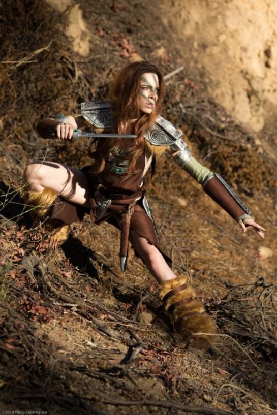 Aela the Huntress Skyrim Cosplay