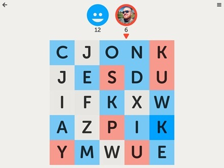 Letterpress - Word Game for iPad