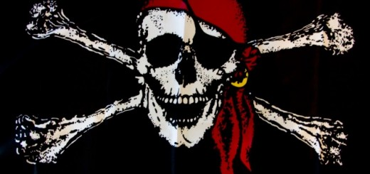 pirate flag 520x245 Researchers find Megaupload shutdown hurt box office revenues, despite gains for blockbusters