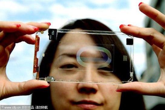 Transparent Smartphone Polytron