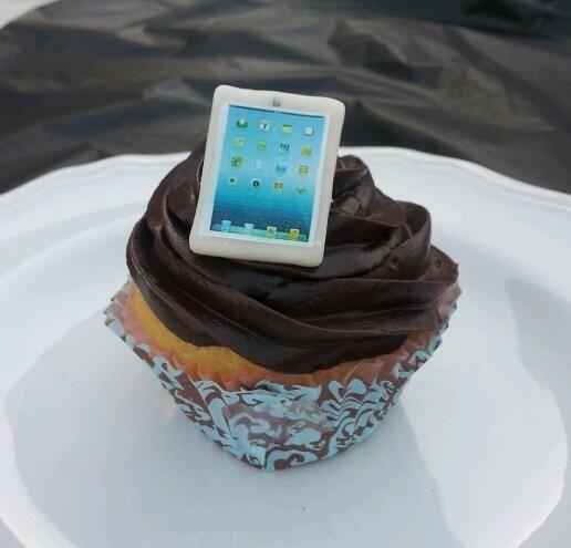 iPad Cupcake