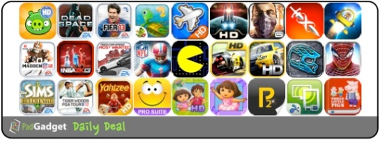PadGadget Daily App Deal - 27 iPad Apps on Sale