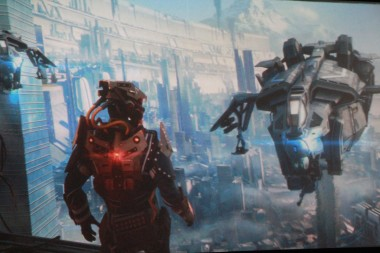 An image from Killzone Shadow Fall, one of the new games exclusive to PS4.
